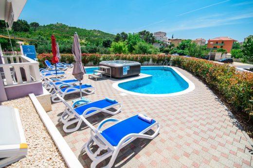 Kroatien Ferienhaus mit Pool